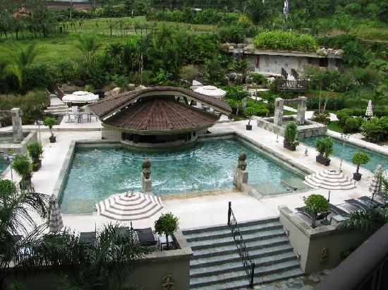 The Royal Corin Thermal Water Spa & Resort: Pool- Naturally Hot