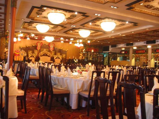 Jumbo Kingdom Floating Restaurant: お店の中