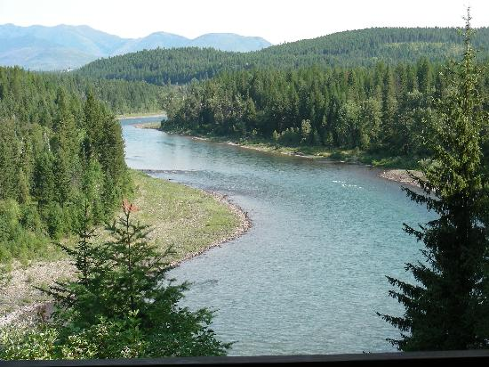 Glacier Park Inn Bed and Breakfast: Incredible scenic views