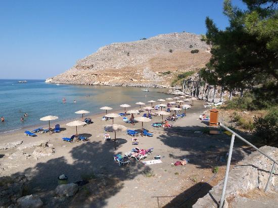 Lindos Mare Hotel: Vlicha Beach