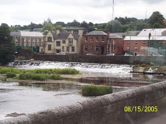 View of Fermoy Weir from the Bridge [1865]