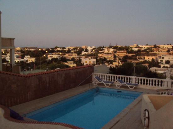 Ringway Villa: Pool with views.