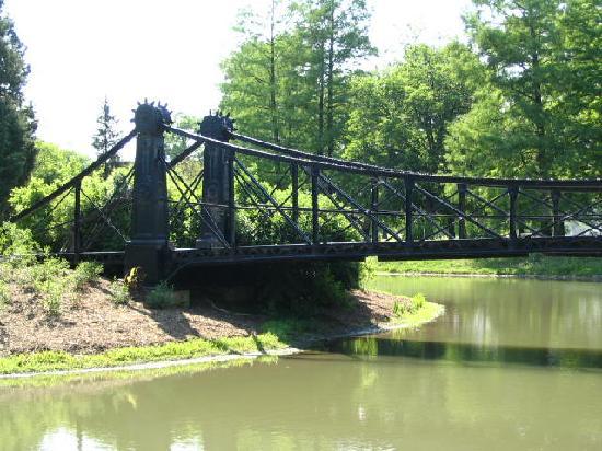 Forest Park de San Luis: Victorian Bridge