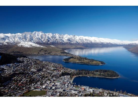 Eichardt's Private Hotel : Above Queenstown