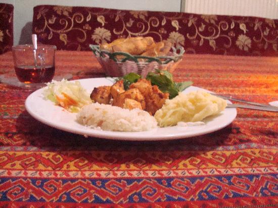 Malkoc Restaurant: poulet chichi kebbab , un vrai délice!!