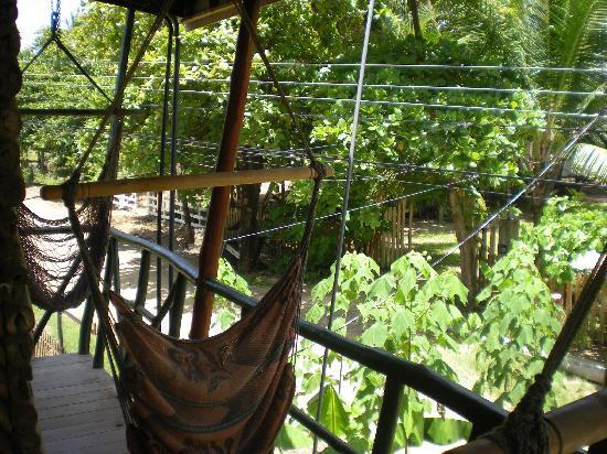 Cabinas Villa Kunterbunt: Der Balkon