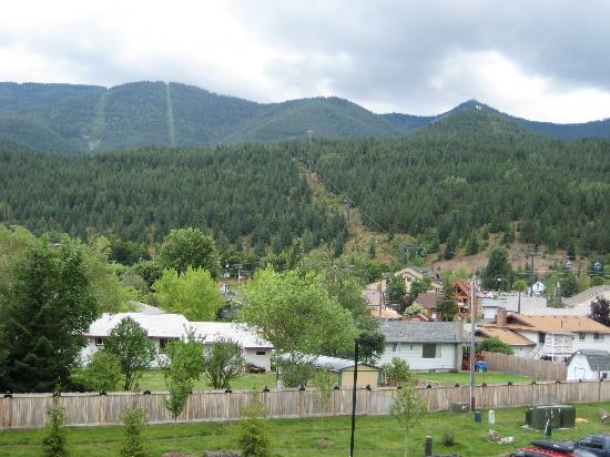 Silver Mountain Resort Lodging: View from room of Gondola