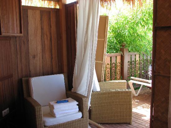 สวนสยาม: Inside the cabana