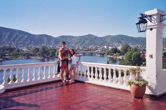 Hipocampus Resort: Hipocampus: terraza vista al lago y la ciudad