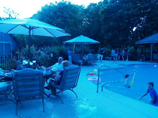 Snow Hill, MD: By the poolside