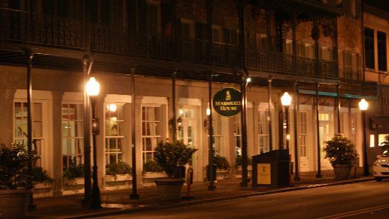 The Marshall House: Marshall House across the street