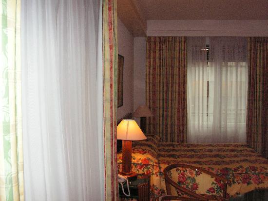Suisse Hotel: finestre della 101