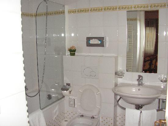 Suisse Hotel: bagno