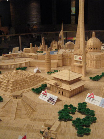 Museum of Science & Technology (MOST): Toothpick city