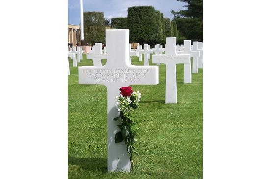 Colleville-sur-Mer, Francia: Gravestone of an Unknown Soldier