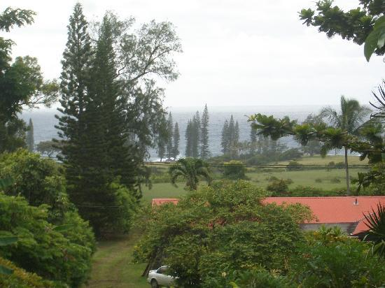 The Guest Houses at Malanai in Hana: view from deck