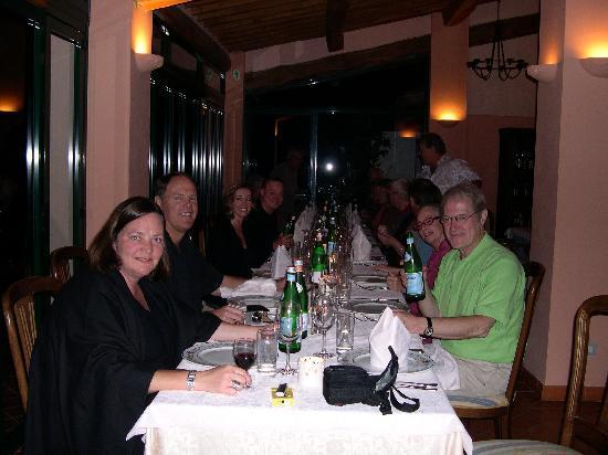 Hotel Villa La Grotta : Dinning at hotel villagrotta