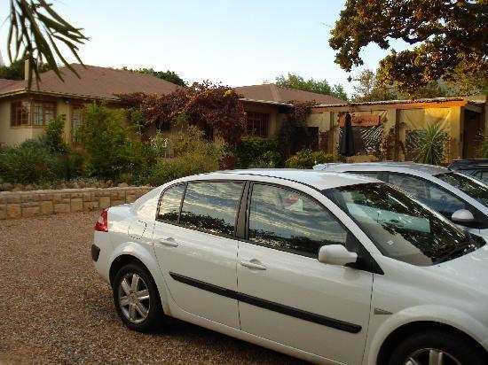 Somerset West, Republika Południowej Afryki: Parking