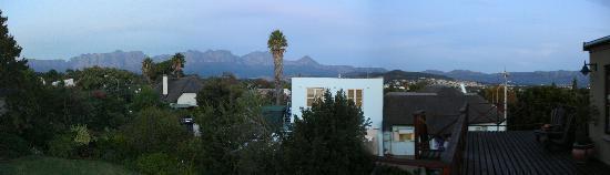 Somerset West, Republika Południowej Afryki: Panorama-Blick vom oberen App.