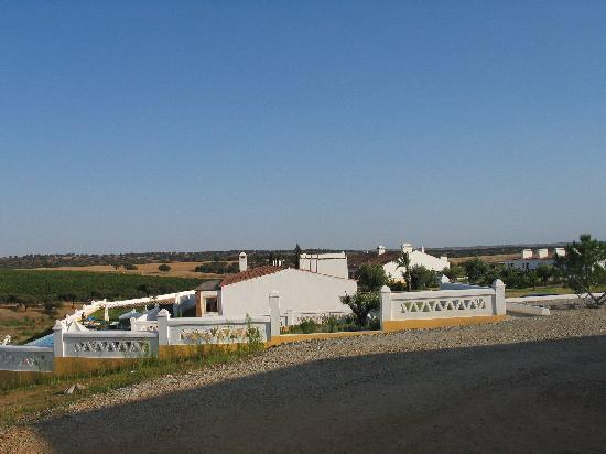 Herdade do Sobroso: the main building
