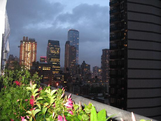 View From Rooftop Bar Picture Of Hilton Garden Inn Times Square New York City Tripadvisor