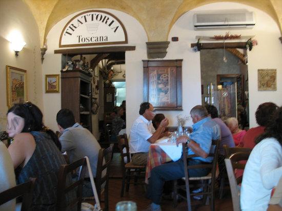 Trattoria Toscana : Interno del locale