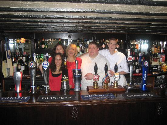 The George on The Green: staff at the George