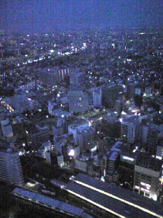 Nagoya Marriott Associa Hotel: 窓からの風景です