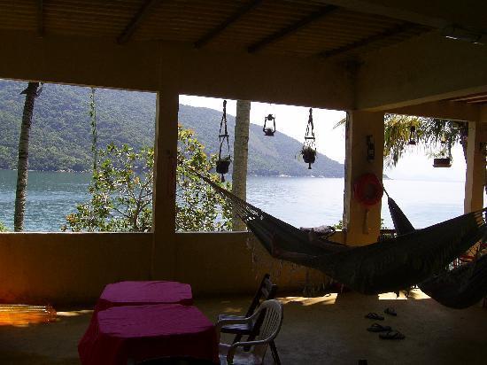 Pousada Tapera das Palmas : Veranda