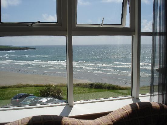 Inchydoney Island Lodge & Spa: finally - a sunny morning