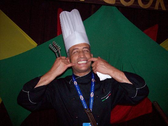 Djerba Holiday Beach: cuoco che cucinava italiano