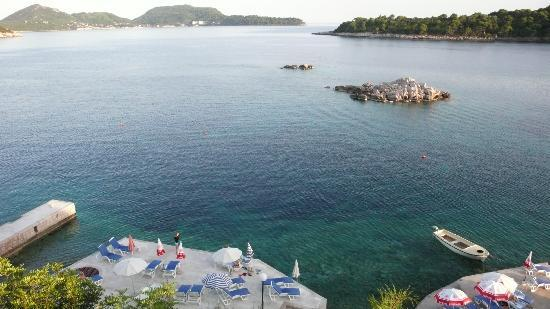 Hotel Bozica: View from room