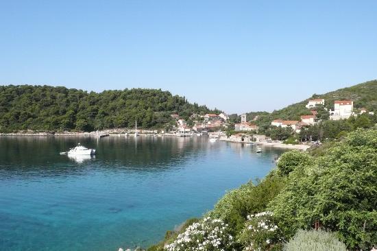 View od Sudurad from Hotel Bozica