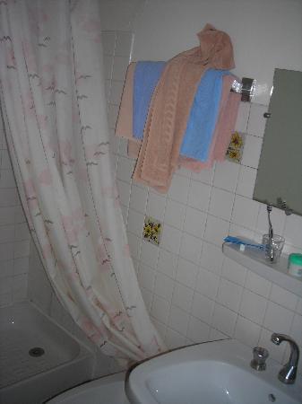 Hotel Luxia: Non si vede molto - si tratta del bagno - dopotutto non male