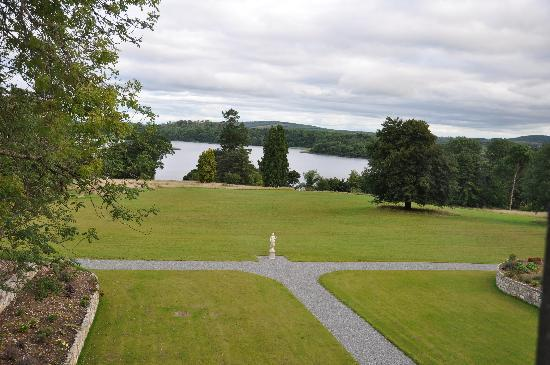 Kilronan Castle Estate & Spa: The view from our room's window.  Time stands still.
