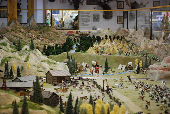 Old West Miniature Village and Museum: Miniature Village-cody