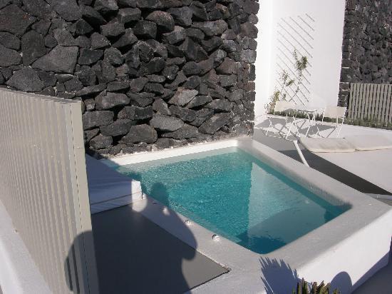 Grace Santorini Hotel : VIP Suite - Room No 44 - Plunge pool