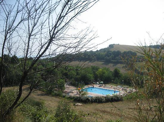 Fiorenzuola di Focara, إيطاليا: La piscina