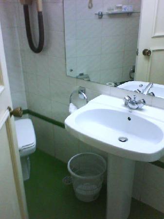 Hotel Arosa: Toilet 1