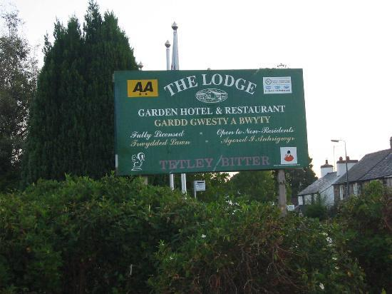 The Lodge Conwy: Easy to find