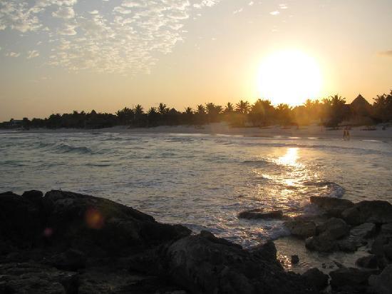 Don Diego de la Playa: Sunset. Sunrise is even more amazing.