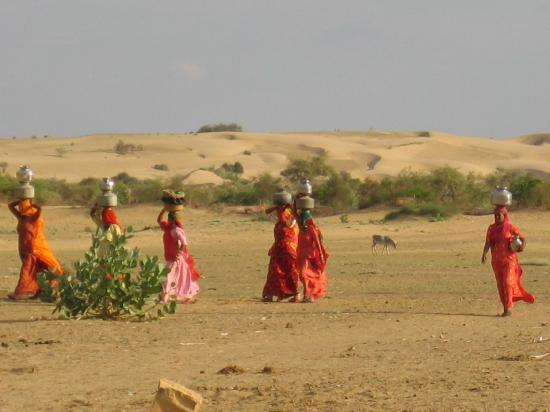 Desert Adventures Camps and Safari: donne rajasthane