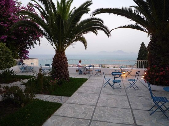 Hotel Dar Said : The magnificent terrace