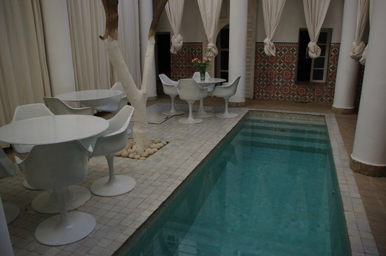 Hotel du Tresor: プールもあります