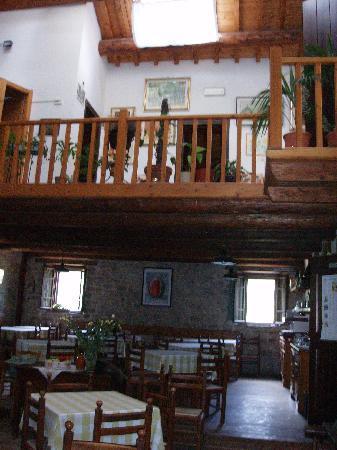 Campigna, อิตาลี: Sala da pranzo