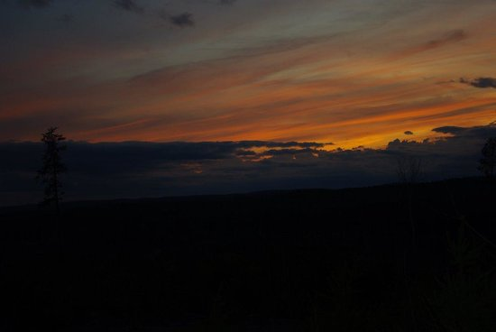 Gow-Bush-Kon Lodge : Beautiful sunsets