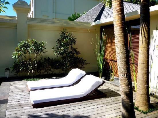 Komaneka at Bisma: Enjoy the sun bath