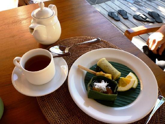 Komaneka at Bisma: Nice afternoon tea at villa
