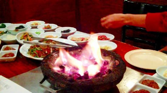 San Soo Gab San Korean Restaurant & Sushi House : Firey
