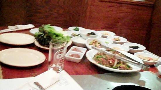 San Soo Gab San Korean Restaurant & Sushi House : Side Dishes